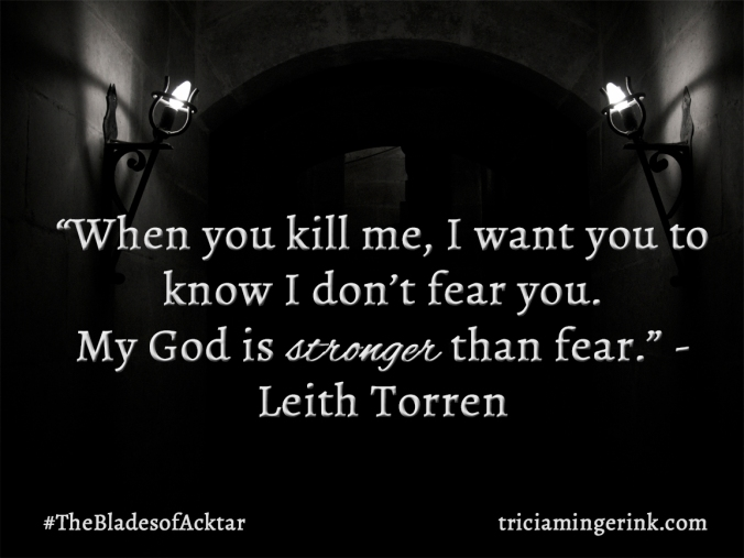 I don't Fear You Quote
