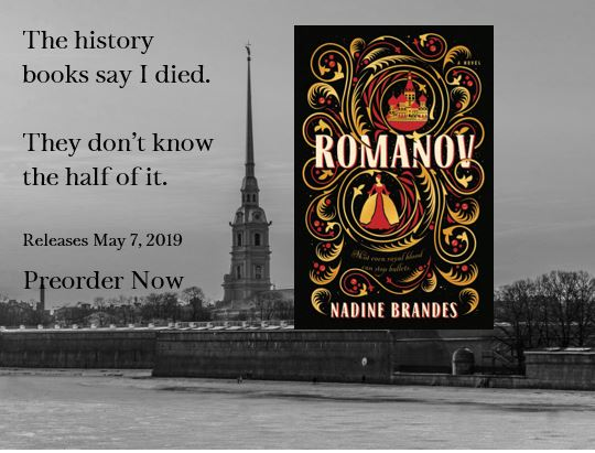 Romanov Cover Reveal