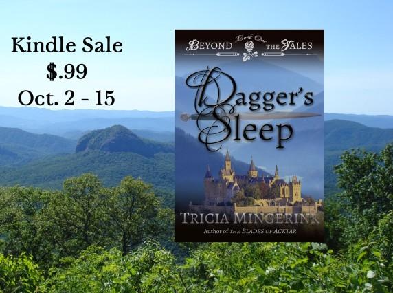 Dagger's Sleep $.99 Sale Graphic