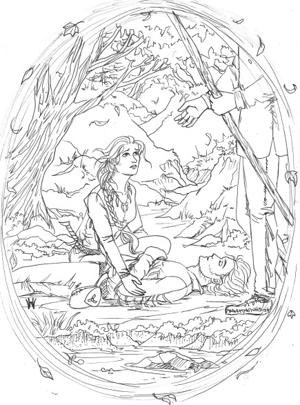 Dagger's Sleep Coloring Page