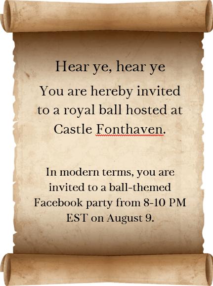 Facebook Party Announcement