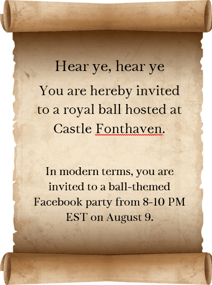 Facebook Party Announcement